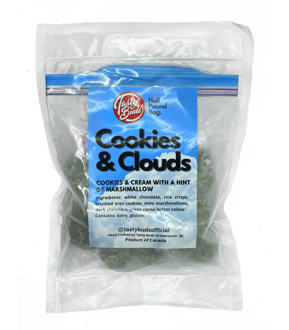 Cookies & Clouds Half Pound bag