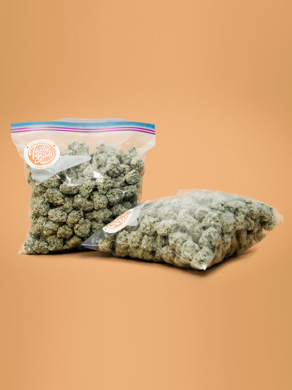 Chocolate weed nugs candy 420 stoner gift Zip Lock bag Raspberry Haze