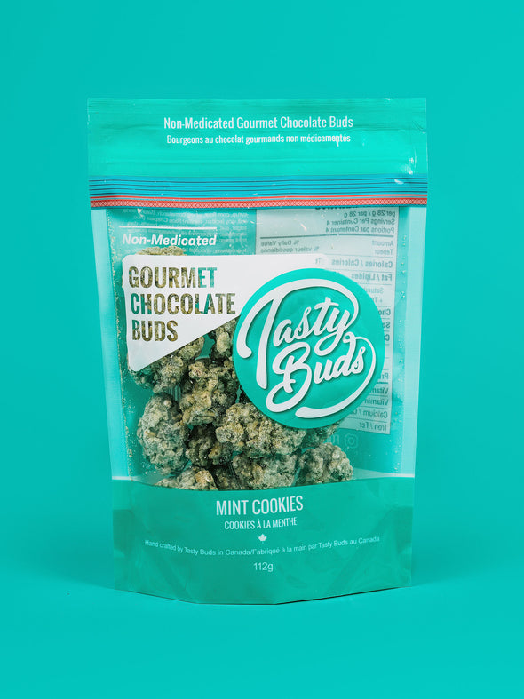 Mint Cookies flavor Chocolate weed nugs candy 420 stoner gift