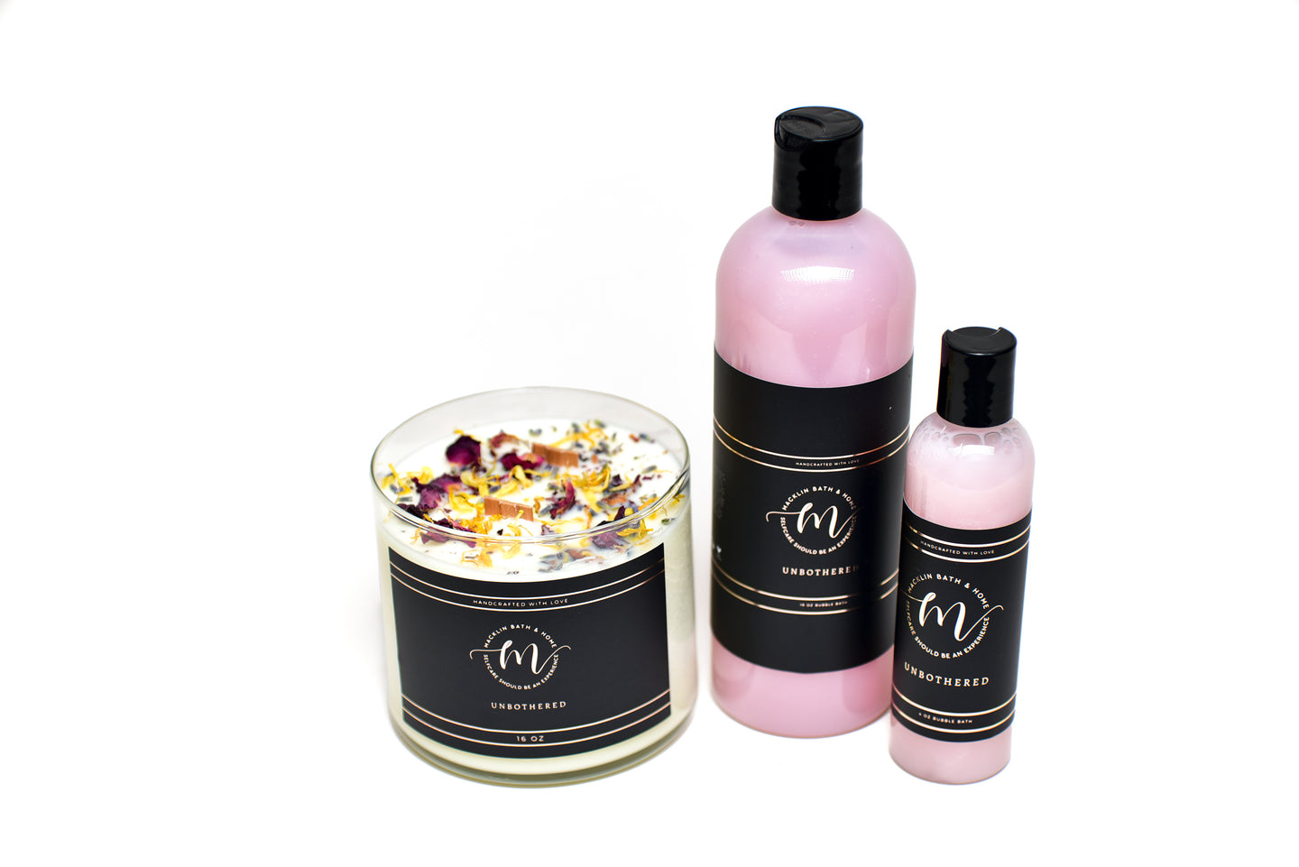 Healing Energy Collection Candle & Bubble Bath - Unbothered