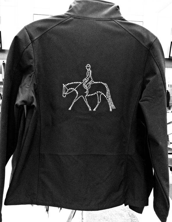 Hunter Under Saddle Rider Rhinestone Jacket