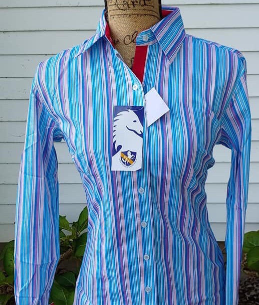 Striped Western Shirt - Sparkling Cowgirl