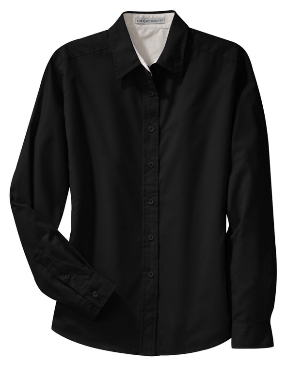 Button Up Shirt - Black - Sparkling Cowgirl