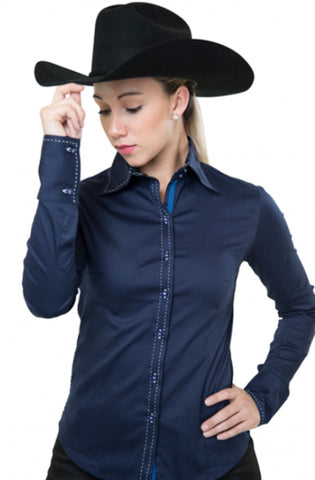 Buck Stitch Show Shirt - Navy