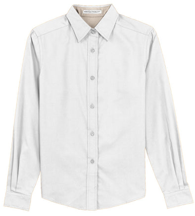 Button Up Shirt - White - Sparkling Cowgirl