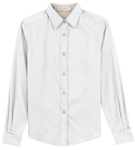 Button Up Shirt - White