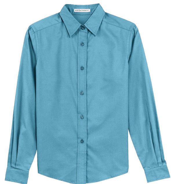 Button Up Shirt - Maui Blue - Sparkling Cowgirl