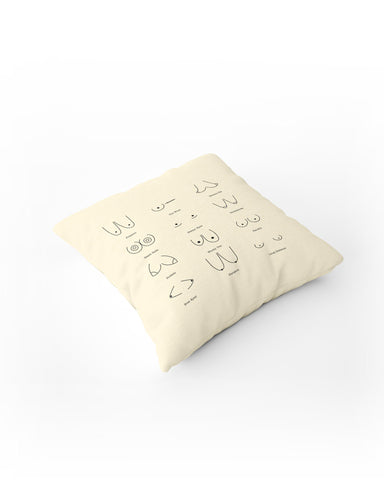 Boobs Descriptions Cushion