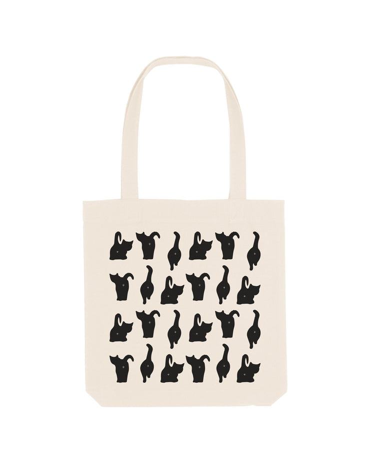 Cat Buttholes Tote Bag - crudelydrawn