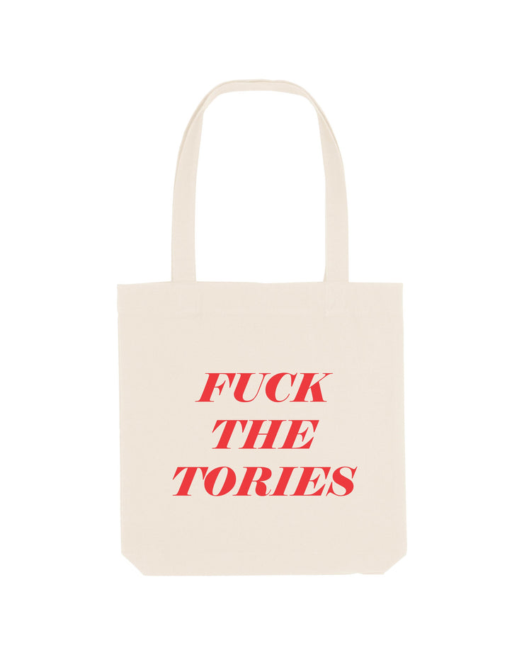 Fuck the Tories Tote Bag