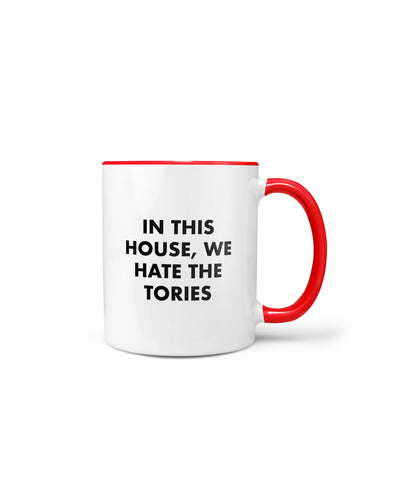Hate the Tories Mug - crudelydrawn