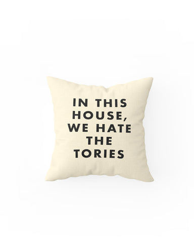 Hate the Tories Cushion
