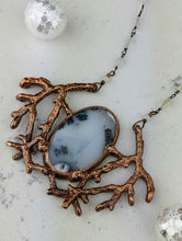 Load image into Gallery viewer, Electroformed Winter Branches with Dendritic Opal - 2 - Minxes' Trinkets