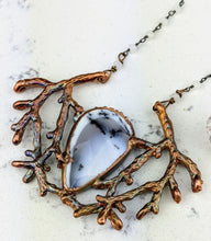Load image into Gallery viewer, Electroformed Winter Branches with Dendritic Opal - 4 - Minxes' Trinkets