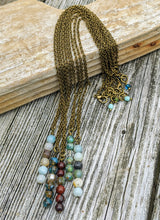 Load image into Gallery viewer, Simple Czech Glass Bead Necklace - Minxes' Trinkets