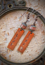 Load image into Gallery viewer, Hand Stamped Earrings - LOVE