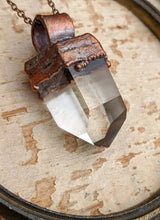 Load image into Gallery viewer, Quartz Point Electroformed Necklace - #7