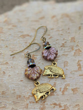 Load image into Gallery viewer, Hedgehog earrings - Thicket - Minxes' Trinkets
