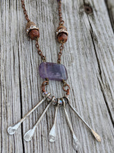Load image into Gallery viewer, Vintage Amethyst Necklace - Minxes' Trinkets