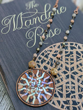 Load image into Gallery viewer, Limited Release - Mandore Rose Necklace and Signed Novel Set - 6 - Minxes' Trinkets