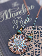 Load image into Gallery viewer, Limited Release - Mandore Rose Necklace and Signed Novel Set - 3 - Minxes' Trinkets