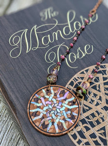 Limited Release - Mandore Rose Necklace and Signed Novel Set - 1 - Minxes' Trinkets