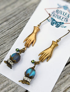 Fortune Teller Crystal Ball Earrings I - Minxes' Trinkets