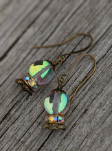 Load image into Gallery viewer, Crystal Ball Earrings - The Future is Clear - Minxes' Trinkets