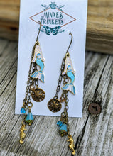 Load image into Gallery viewer, Mermaid Shoulder Duster Earrings - Minxes' Trinkets
