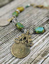 Load image into Gallery viewer, Boho Kuchi Coin Bracelet - Minxes' Trinkets