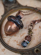 Load image into Gallery viewer, Copper Electroformed Acorn - #2