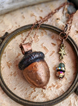 Load image into Gallery viewer, Copper Electroformed Acorn - #4