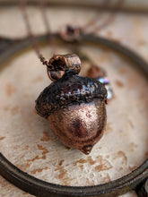 Load image into Gallery viewer, Copper Electroformed Acorn - #7
