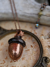 Load image into Gallery viewer, Copper Electroformed Acorn - #10