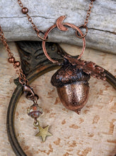 Load image into Gallery viewer, Copper Electroformed Acorn - #19