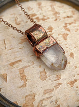 Load image into Gallery viewer, Quartz Point Electroformed Necklace - #1