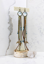 Load image into Gallery viewer, Swallow Skies Shoulder Duster Earrings - Minxes' Trinkets