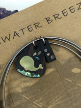 Load image into Gallery viewer, Inlay Bracelet - Whale - Minxes' Trinkets