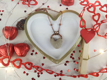 Load image into Gallery viewer, Heart-shaped Beach Pebble Copper Electroformed Valentine's Necklace - #3 - Minxes' Trinkets