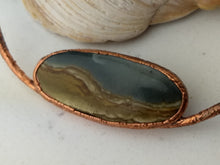 Load image into Gallery viewer, Landscape Jasper - Copper Electroformed Necklace - Minxes' Trinkets