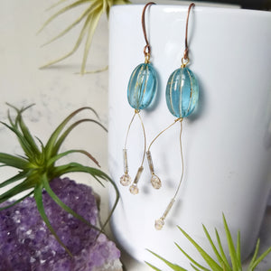 Ctenophore Earrings - Minxes' Trinkets