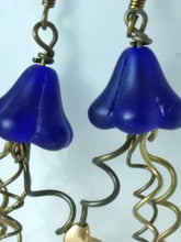 Load image into Gallery viewer, Jellyfish Earrings - Cobalt - Minxes' Trinkets