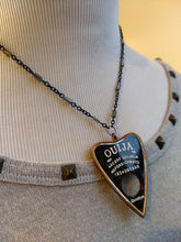Load image into Gallery viewer, Copper Electroformed Ouija Planchette Necklace - Minxes' Trinkets