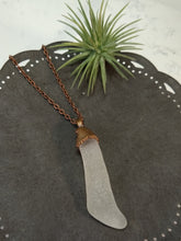 Load image into Gallery viewer, Chesapeake Bay Seaglass Necklace - Copper Electroformed - Minxes' Trinkets