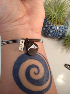 Inlay Bracelet - Narwhal - Minxes' Trinkets