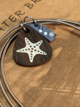 Load image into Gallery viewer, Inlay Bracelet - Starfish - Minxes' Trinkets