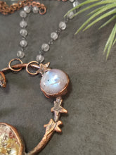 "Load image into Gallery viewer, ""Mars"" - Planetary Orbit Necklace - Minxes' Trinkets"