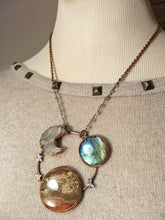 "Load image into Gallery viewer, ""Jupiter"" - Planetary Orbit Necklace - Minxes' Trinkets"