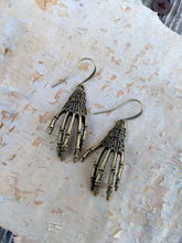 Load image into Gallery viewer, Skeleton Hands Earrings - Minxes' Trinkets