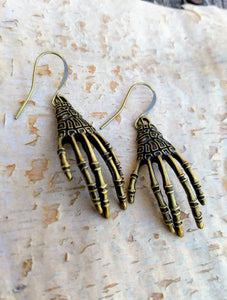 Skeleton Hands Earrings